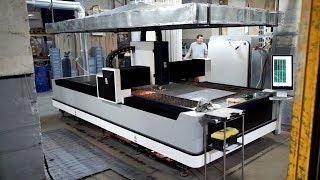 Secret laboratory - 1500 watt laser with 500 liters of liquid nitrogen and a turbine