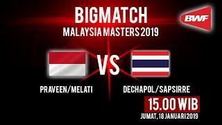 Live Streaming Perempat Final Malaysia Masters 2019, Ganda Campuran Indonesia Hadapi Wakil Thailand