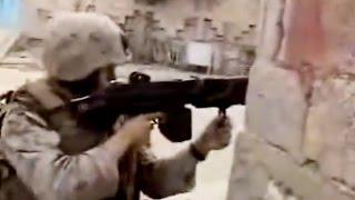 United States Marines Raw Combat Footage At Ramadi Iraq (Real War Video)
