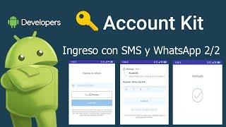 AccountKit - Login con SMS y WhatsApp 2/2