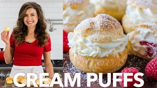 How To Make Easy Cream Puffs - Natasha's Kitchen