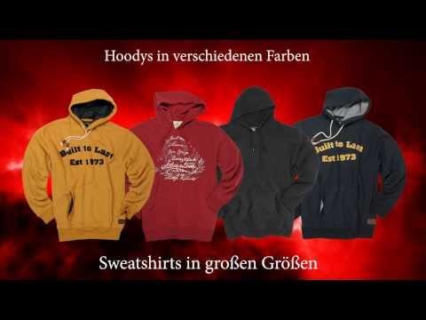 Sweatshirts in große Größen für Männer