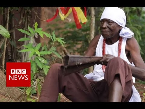 Can Nigeria's 'rainmakers' really control the weather? - BBC News