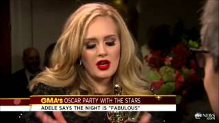 Adele Compilation Interviews @ OSCARS 2013 - The 85th Academy Awards