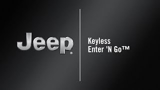 Keyless Enter 'N Go™ | How To | 2020 Jeep Compass