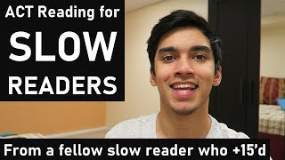 ACT Reading for SLOW Readers | How to Score 30+ As a Slow Reader | ACT Reading Tips and Strategies