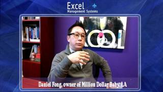 Daniel Fong, owner of Million Dollar Baby, LA, gained business success insights from Dale Richards