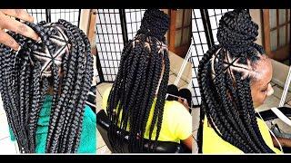 #248.@Braids_by_Twosisters  #Inspired Spider Web Braids