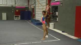 Gabby Douglas Shows Off Her New Floor Routine In This Dance Through