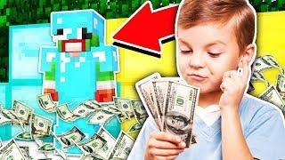 GIVING A FAN $1,000,000 DOLLARS IN MINECRAFT!