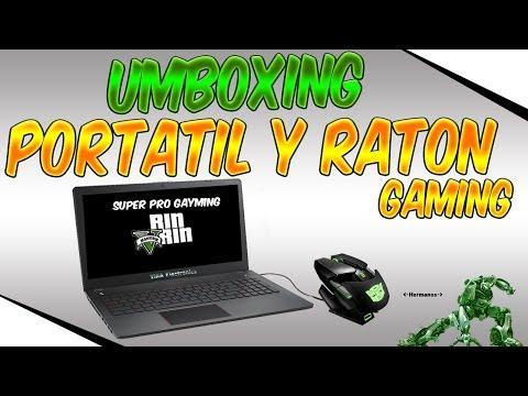 UNBOXING Portatil MSI y raton gamer - VLOG