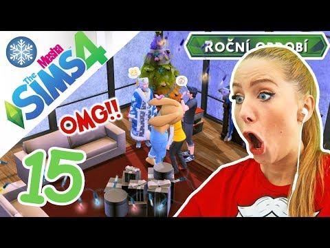 VÁNOCE! Vánoční dědeček, dárky a další ztracený člen rodiny! ● The Sims 4 - ROČNÍ OBDOBÍ 15