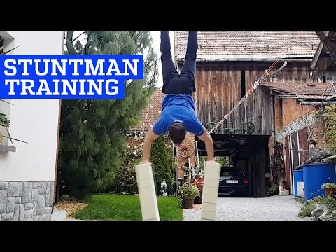 Incredible Stuntman Training and Calisthenics!