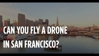 Can You Fly A Drone In San Francisco? Phantom 3 Professional At Sunrise