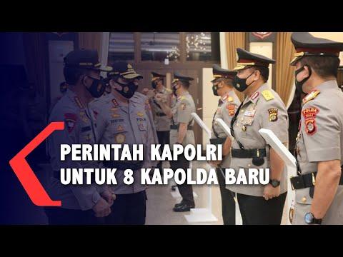 ini perintah kapolri untuk kapolda yang baru dilantik