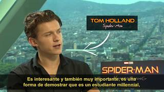 """Spider-Man: De regreso a casa"" Entrevista a Tom Holland"