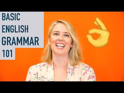 TakeLessons asked me to give a breakdown of Basic English grammar, which I happily agreed to!