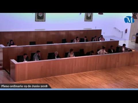 Pleno ordinario de la Diputación correspondiente al mes de junio