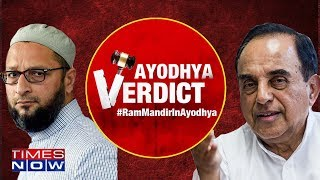 Subramanian Swamy on Ayodhya verdict, says 'Asaduddin Owaisi should have faith in democracy'