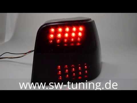 LED Rückleuchten VW Golf 4 Black/smoke SW-Tuning