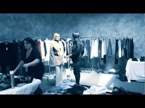 Behind the Scenes - Calvin Klein Fall 2011 - презентация одежды Calvin Klein