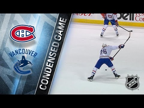 Montreal Canadiens vs Vancouver Canucks – Dec. 19, 2017 | Game Highlights | NHL 2017/18. Обзор матча