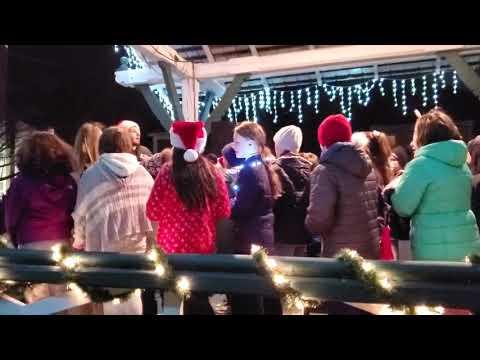 Christmas tree lighting 2019 chorus 2
