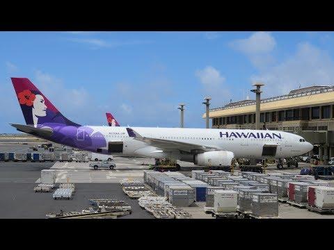 Hawaiian Airlines A330 First Class Honolulu to San Francisco
