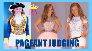 What I learned pageant judging