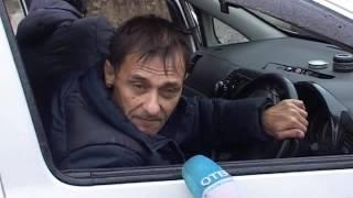 Объезд аварии закончился спасательной операцией на Гризодубовой