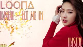 (LOOΠΔ/HaSeul) - '소년, 소녀 (Let Me In)' [Han/Rom/Eng Lyrics]