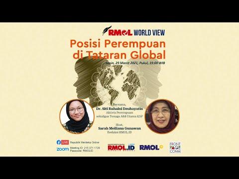 RMOL World View • Posisi Perempuan di Tataran Global