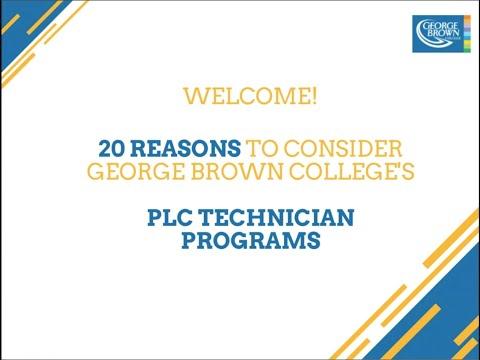 PLC Technician Webinar - 20 Best Reasons to Choose GBC's ...
