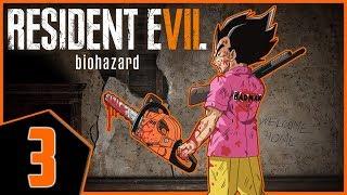 Leave Me Alone!!!! Vegeta Plays Resident Evil 7 Biohazard Part 3