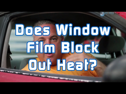 Does window film block out heat
