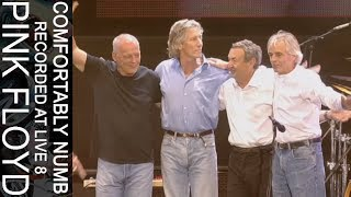 Pink Floyd — Comfortably Numb (Recorded at Live 8)