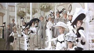 Ascot horse race ~ Audrey Hepburn & Rex Harrison (My Fair Lady, 1964)
