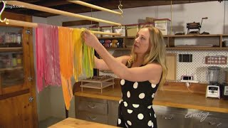 Seattles Pasta Ninja Shares Her Tricks For Making Colorful Edible Art - Field Trip Friday - KING