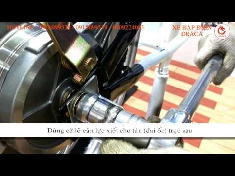 Hướng dẫn sửa chữa lắp ráp xe đạp điện phần 1