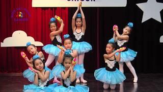 Lớp múa ballet cho bé ở Hải phòng và tp HCM - bài múa Tarantella - Kids Art & Music Saigon