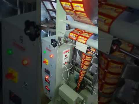Automatic Mukhwas Pouch Packing Machine