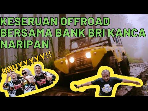 Keseruan offroad bersama Bank BRI Kanca Naripan Bandung
