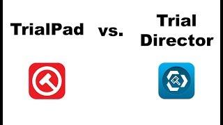 TrialPad vs. Trial Director iPad App Review