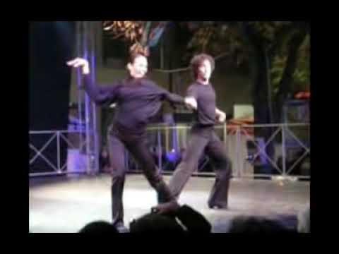 Natalia TITOVA e Samuel PERON ballando BACHATA all'Oro di Spello