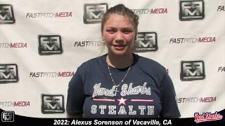 2022 Alexus Sorenson Catcher Softball Skills Video - Yardsharks