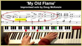 My Old Flame - Solo jazz piano tutorial