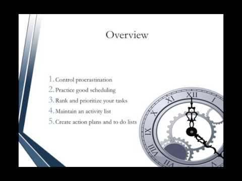 Administrative Assistant Certification - Time Management Tips and ...