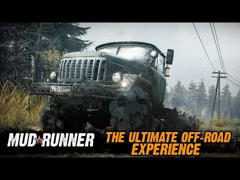 Spintires: MudRunner - The Ultimate Off-Road Experience thumbnail