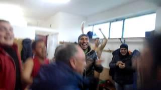 preview picture of video 'Il coro per Mister Pannuti dopo la vittoria sul Casignana'
