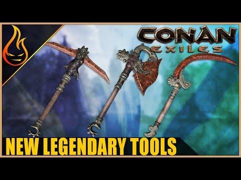New Legendary Tools Conan Exiles 2019 PTR Content